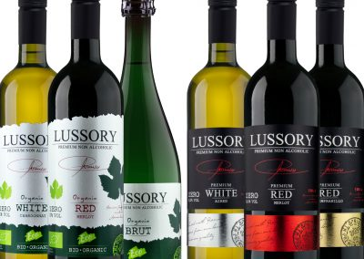 pack 3 +3 lussory wine
